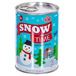 Snow Time Instant Snow in a Can