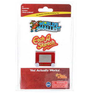 World's Smallest Etch-A-Sketch in package