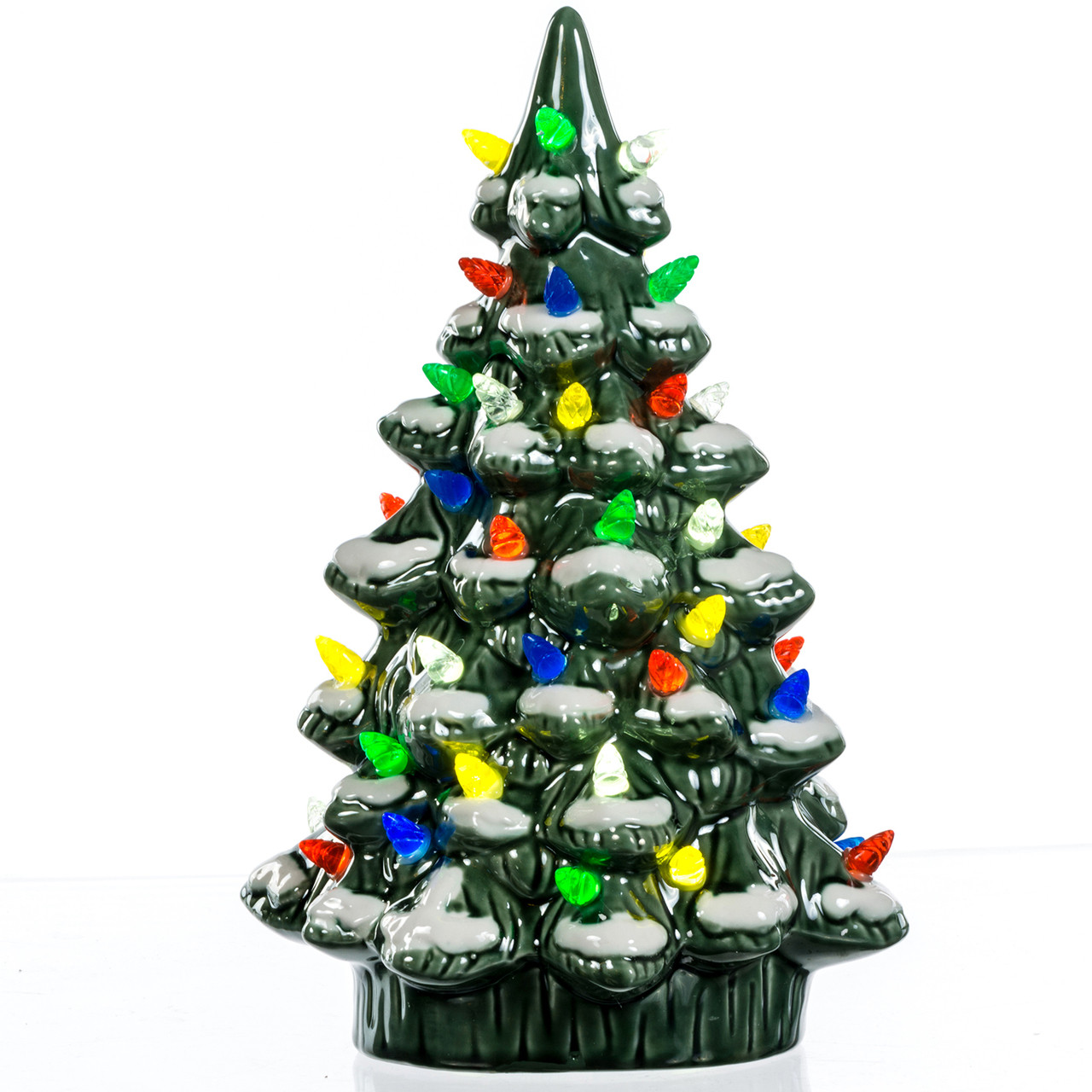 ceramic light up christmas tree - Porcelain Christmas Tree With Lights