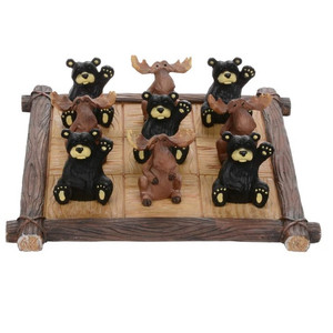 Bear and Moose Tic Tac Toe Set 2