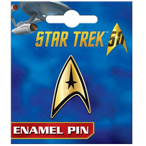 Star Trek Command Insignia Enamel Pin