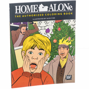 Home Alone Colouring Book Cover