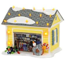 Griswold Holiday Garage Dept 56