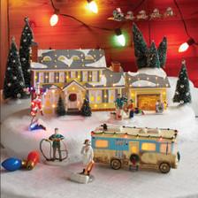 Griswold Holiday Garage Dept 56  scene