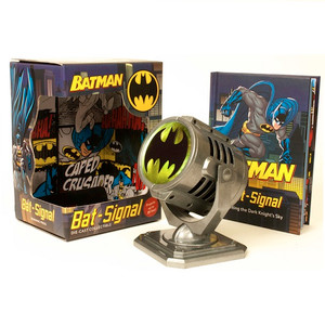 Batman Metal Die-Cast Bat-Signal box