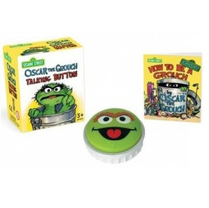 Oscar the Grouch Talking Button