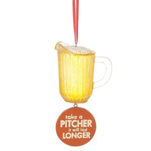 Take a PITCHER Ornament