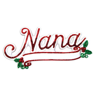 New Nana Personalized Ornament