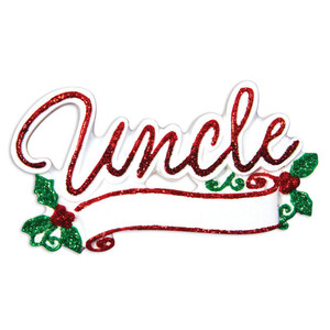 New Uncle Personalized Ornament