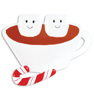 Hot Chocolate Couple Personalized Ornament