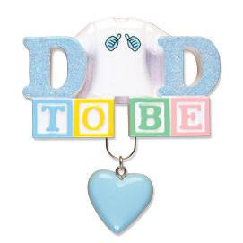 Dad to Be Personalized Ornament