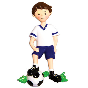Soccer Boy Personalized Ornament