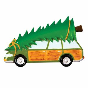 Family Truckster Station Wagon Personalized Ornament