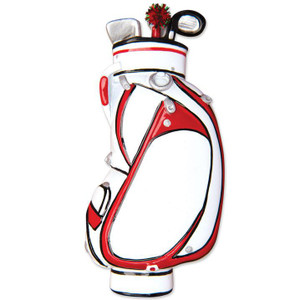 Golf Bag Personalized Ornament