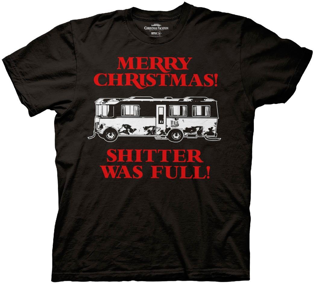 Shitter Was Full T-Shirt (Censored)