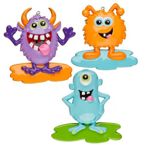 Goofy Monster Personalized Ornament all