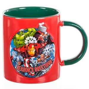 Avengers 12 oz Ceramic Embossed Mug