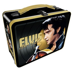 Elvis Presley Tin Tote Lunch Box