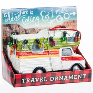 Retro RV Ornament