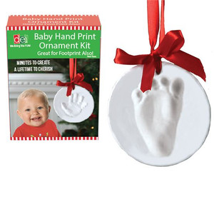 Baby Hand Print Ornament Kit package