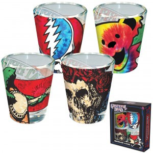 Grateful Dead Shot Glasses