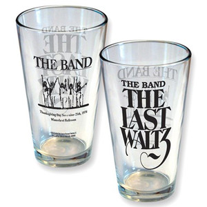 The Last Waltz Pint Glass