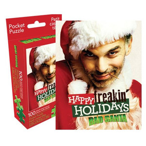 Bad Santa Pocket Puzzle
