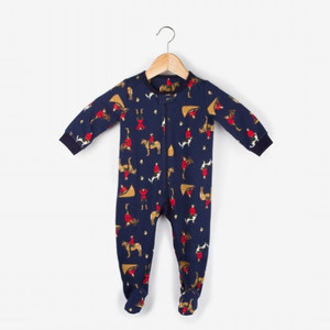 Canadian Action Mountie Infant Romper