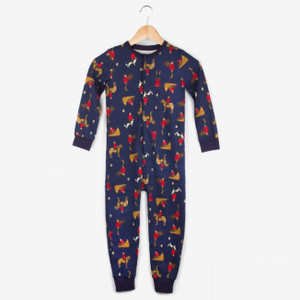 Action Mountie Kids Onesie Pajamas
