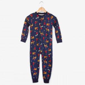 Action Mountie Kids Onesie Pajamas