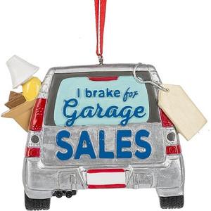 Brake for Garage Sales Orn
