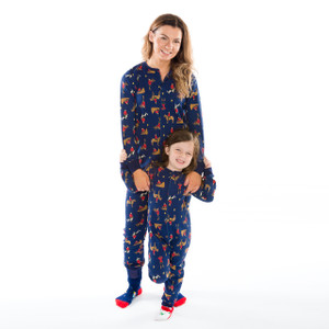 Action Mountie Family Onesie Pajamas