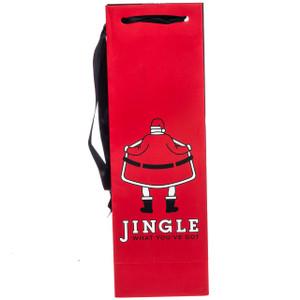 Jingle What You've Got Wine Gift Bag