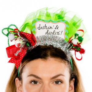 Dashin' & Darlin' Christmas Headband