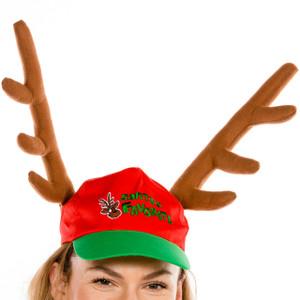 Santa's Favorite Rudolph Hat