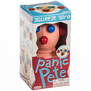 Panic Pete Squeeze Toy - package