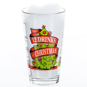 12 Drinks of Christmas 16 oz Pint Glass