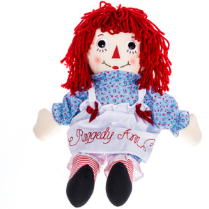 "25"" Raggedy Ann Doll Large"