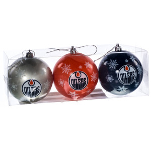 Edmonton Oilers Ornaments (Set of 3)