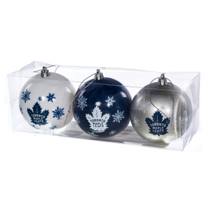 Toronto Maple Leafs Ornaments (Set of 3)