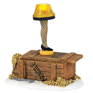 Lit Leg Lamp Dept 56