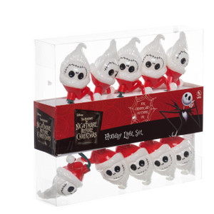 Nightmare Before Christmas Santa Jack Light Set