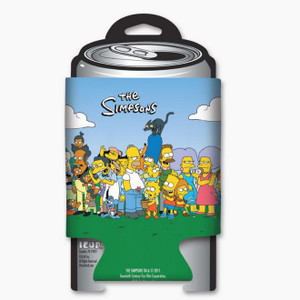 The Simpsons Family and Friends Can Cooler