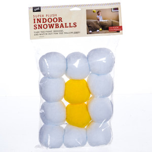 Super Plush Indoor Snowballs