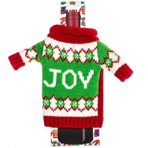 Wine Bottle Ugly Sweaters  - joy