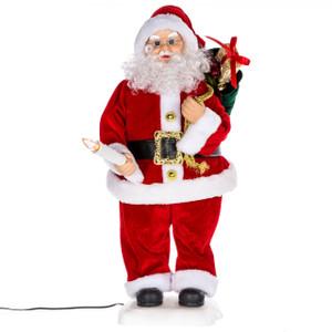 "24"" Animated Santa Claus"