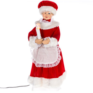 "24"" Animated Mrs. Claus"