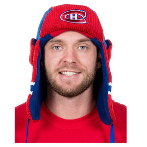 Montreal Canadiens NHL Reversible Trapper Hat  2