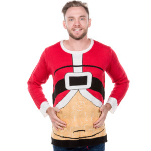 Fat Santa Ugly Christmas Sweater