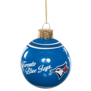 MLB Toronto Blue Jays Glass Ball Ornament